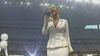 Download Beyoncé USA National Anthem Live @ Super Bowl 2004 [HQ] Video
