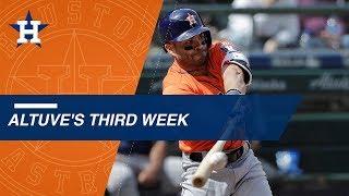 Download Altuve hits .308 during week 3 of the MLB season Video