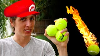 Download Real-life Mario Fireballs - SMS#1 Video