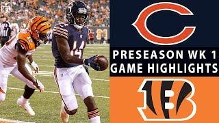 Download Bears vs. Bengals Highlights | NFL 2018 Preseason Week 1 Video