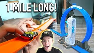 Download 1 MILE OF HOT WHEELS TRACK INSIDE MY $1,000,000 WAREHOUSE! Video