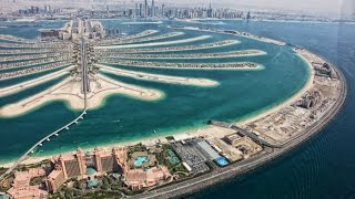Download Constructing Palm Jumeirah Dubai — Palm Island Dubai — Megastructure - Nakheel Video