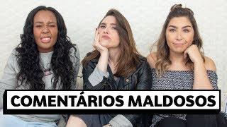 Download Reagindo a COMENTÁRIOS MALDOSOS com Tutuia e Karla | Lu Ferreira | Chata de Galocha Video