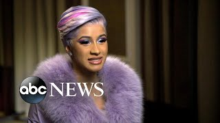Download Cardi B opens up about balancing work and motherhood | GMA Video