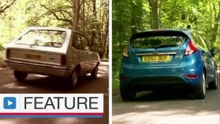 Download Ford Fiesta vs Ford Fiesta - How much has it changed over 35 years? Video