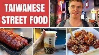 Download Taiwanese Street Food in Taipei, Taiwan at Shilin Night Market (士林夜市) Video