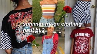 Download SUMMER TRENDY TRY-ON CLOTHING HAUL 2017 PT.2 | Eris The Planet Video
