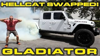 Download HELLCAT SWAPPED GLADIATOR * 750+ HP Jeep Gladiator Review and Performance Testing Video