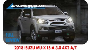 Download 2018 Isuzu mu-X LS-A 3.0 4x2 A/T review Video
