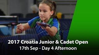 Download 2017 ITTF Croatia Junior & Cadet Open - Day 4 Afternoon Video