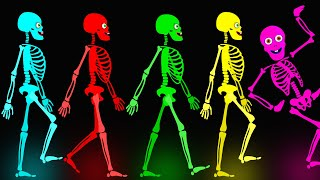 Download Midnight Magic - Five Skeletons Went Out One Night | Fun Skeletons Adventures Binge Compilation Video