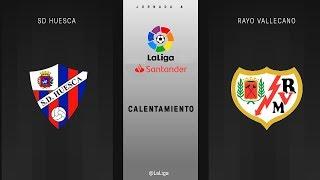 Download Calentamiento SD Huesca vs Rayo Vallecano Video
