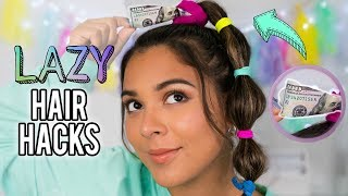 Download DIY Hair Hacks Every LAZY PERSON Should Know!Quick & Easy Hairstyles for School! Video