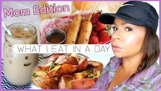 Download WHAT I EAT IN A DAY | NOT HEALTHY + NON-VEGAN | REAL LIFE MEALS OF A STAY AT HOME MOM Video