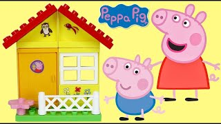 Download PEPPA PIG Garden House Construction Set with George & Friends Video