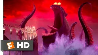 Download Hotel Transylvania 3 (2018) - Dracula vs the Kraken Scene (9/10) | Movieclips Video
