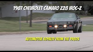 Download Chevrolet Camaro Z28 IROC-Z **SOLD** - Video Test Drive with Chris Moran - Supercar Network Video