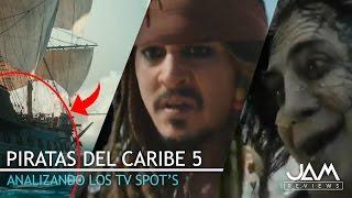 Download ANALIZANDO LOS TV SPOT #10 Y #11   PIRATAS DEL CARIBE 5: LA VENGANZA DE SALAZAR   JAM REVIEWS Video