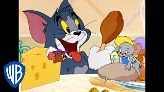Download Tom & Jerry | Food Fight! | Classic Cartoon Compilation | WB Kids Video