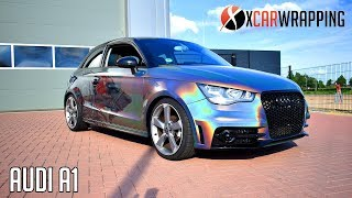 Download EPIC DESIGN ON A PSYCHEDELIC FLIP AUDI A1 - By X Carwrapping Video