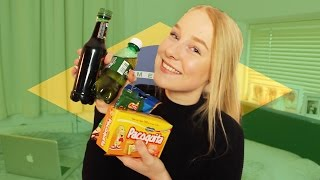 Download TRYING BRAZILIAN SNACKS!! [MAIL TIME] Video