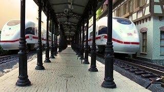 Download Gartenbahn - Fahrtag mit 3 ICE ´s Video