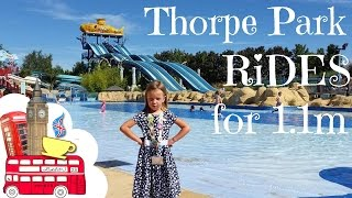 Download 12 Thorpe Park Rides for those who are 1.1m or shorter Video