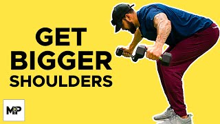 Download The 3 BEST Ways To Grow Massive Shoulders! | MP Shoulder Workout Video
