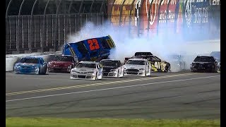 Download 2018 ARCA Racing Series Bret Holmes Crash Daytona Lucas Oil 200 Video