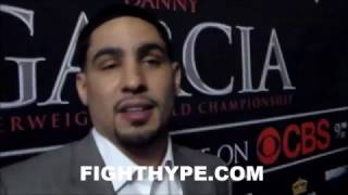 Download DANNY GARCIA REVEALS WHAT HE SAW IN KEITH THURMAN'S EYES DURING FACE OFF: ″FEAR!″ Video