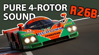 Download Orgasmic sound of 4-rotor Mazda 787B Video