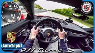 Download Porsche 911 Turbo S 750 HP AUTOBAHN POV 312 km/h PP Performance by AutoTopNL Video