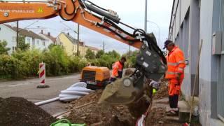 Download Terrassement, Voirie, Assainissement, Travaux publics en Alsace : TORREGROSSA SA Video