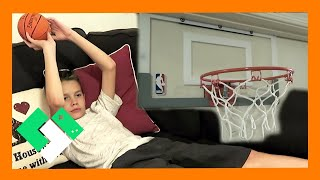 Download 🏀 COUCH BASKETBALL CHALLENGE 🏀 (Day 1641) Video