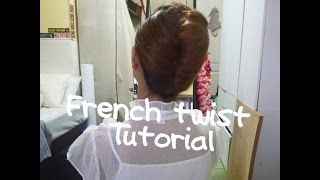 Download 簡易法式空姐頭Easy French Twist Updo /flight attendant hairstyle Video