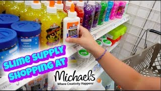 Download SHOPPING FOR SLIME SUPPLIES AND SO MANY SQUISHIES AT MICHAELS! | VLOG Video
