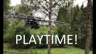 Download chAIR -Manned drone Part 24 -Playtime! Axel Borg Video