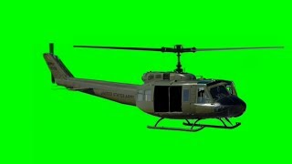 flying helicopter with green screen cockbit Free Download Video MP4