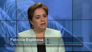 Download UNFCCC's Patricia Espinosa: Working towards a low-carbon society for ″the well-being of people″ Video