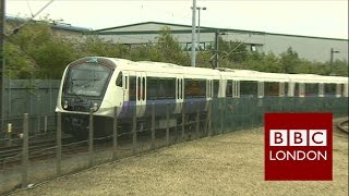 Download A look at the new Crossrail trains – BBC London News Video