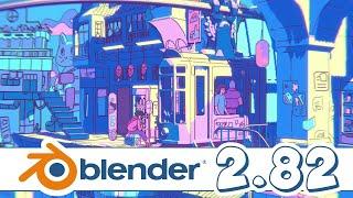 Download Blender 2.82 Released! Video