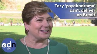 Download Emily Thornberry: Tory 'psychodrama' can't deliver on Brexit Video