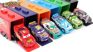 Download Learning Color Special Disney Pixar Cars Lightning McQueen Mack Truck Playset for kids car toys Video