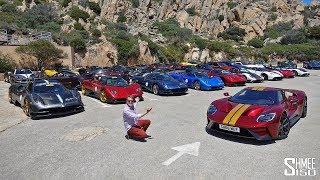 Download Chasing the $100m Pagani Rally in My Ford GT! Video