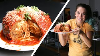 Download Giant Spaghetti-Stuffed Meatball: Behind Tasty Video