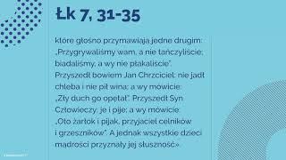 Download #Ewangelia | 19 września 2018 | (Łk 7, 31-35) Video