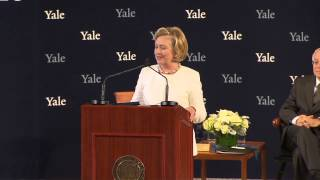 Download Secretary Hillary Rodham Clinton '73 Accepts the Yale Law School Award of Merit Video
