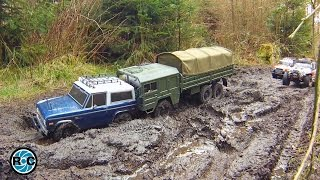 Download RC MUD 4x4 & 6x6 ADVENTURE TOUR TO THE GREEN LAKE Video