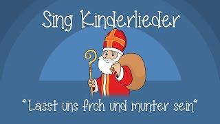 Download Lasst uns froh und munter sein - Weihnachtslieder zum Mitsingen | Sing Kinderlieder Video