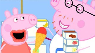 Download Peppa Pig Official Channel | Peppa Pig and Daddy Pig's Ice Cream Truck Video